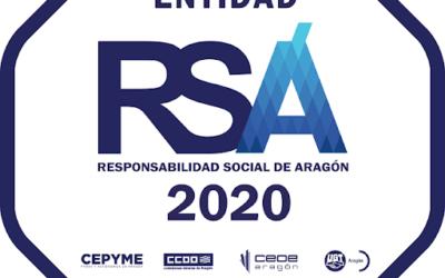 Obtenemos el Sello de Responsabilidad Social de Aragón